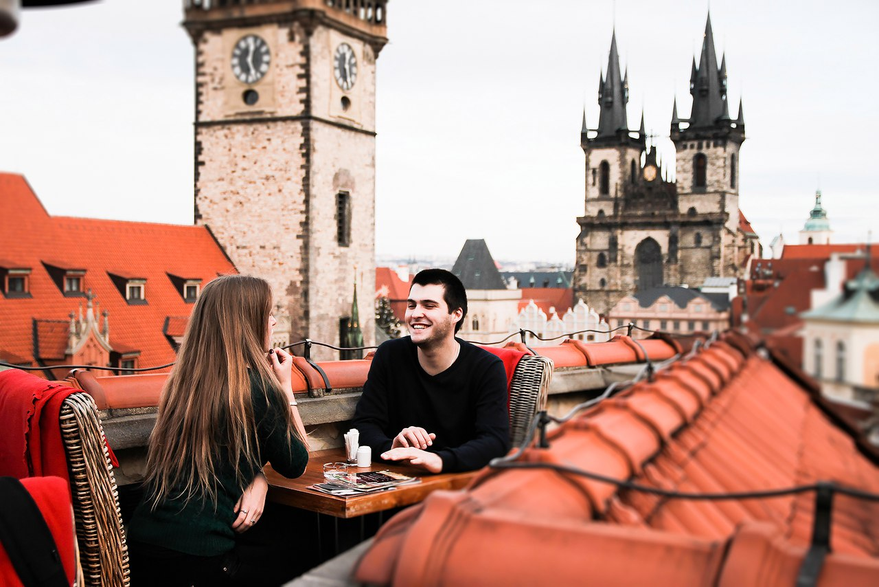 День влюбленных в Праге